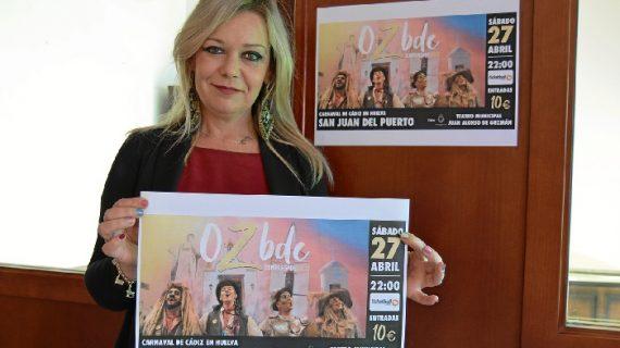San Juan del Puerto acogerá una gala de la comparsa del Carnaval de Cádiz OzBDC