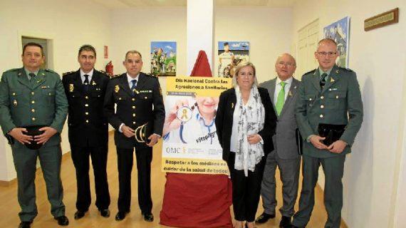 El Colegio de Médicos de Huelva se une al Día Nacional contra las Agresiones en el Ámbito Sanitario