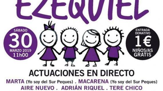 Moguer organiza el acto benéfico 'Todos somos Ezequiel'