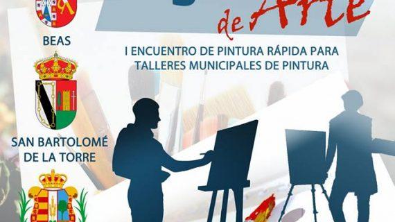 Trigueros organiza el I Encuentro de Pintura Rápida para Talleres Municipales