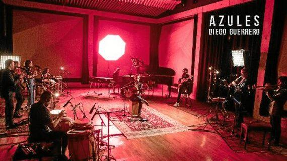 El onubense Diego Guerrero presenta su nuevo single 'Azules'