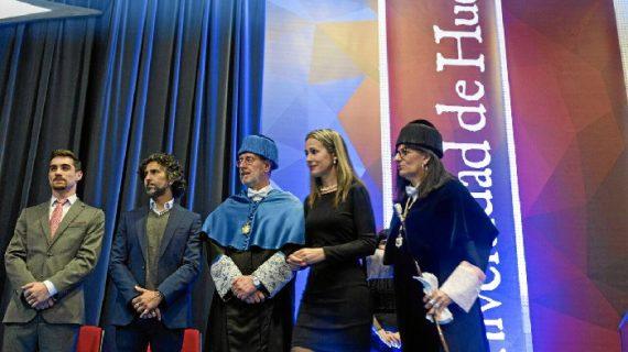 Flamenco, deporte, investigación y humanismo reinan en la celebración el día de la UHU
