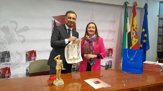 Moguer y Jerez de los Caballeros unidos por la figura del explorador Vasco Núñez de Balboa