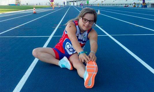 Blanca Betanzos buscará en Turquía el título de campeona de Europa de Atletismo en Pista Cubierta INAS