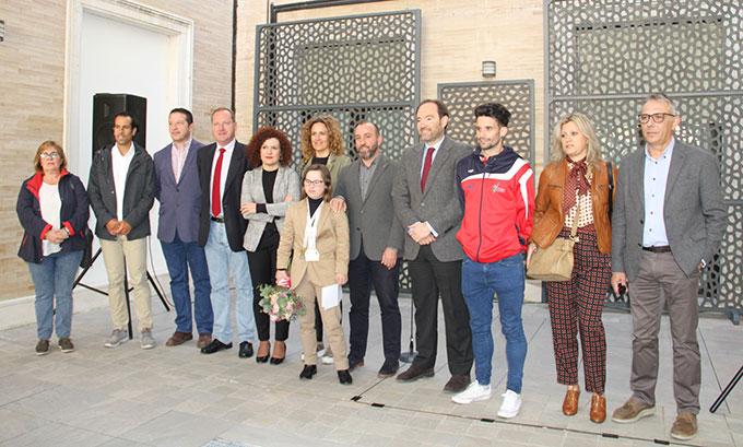La campeona Blanca Betanzos recibe un merecido homenaje en la Diputación Provincial