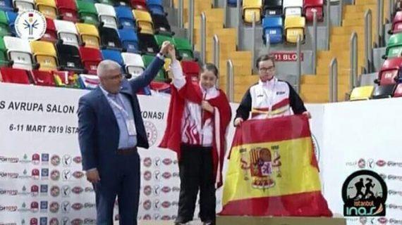 Blanca Betanzos cierra a lo grande el Europeo de Atletismo en Pista Cubierta INAS con otro oro en los 200 metros
