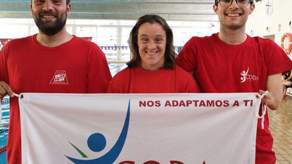 David Sánchez, triple campeón de España en el Nacional de Natación Adaptada por autonomías