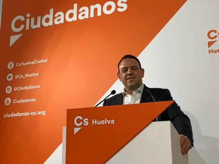 Carlos Hermoso, candidato de Cs por Huelva a las generales del 28A