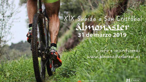 Cerca de 200 deportistas toman parte este domingo en Almonaster la Real en la XIX Subida a San Cristóbal