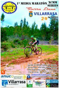 Cartel anunciador de la prueba ciclista del próximo 24 de marzo en Villarrasa.