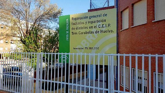 El CEIP Tres Carabelas de Huelva inaugura sus nuevas instalaciones