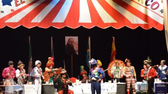 'El Circo' y 'Los Guapos' ganan el Concurso de Agrupaciones del Carnaval de la Luz 2019