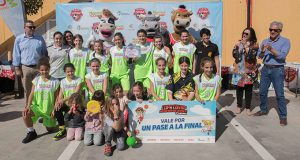 Clínica Dental El Faro Mazagón, ganador en baloncesto femenino.