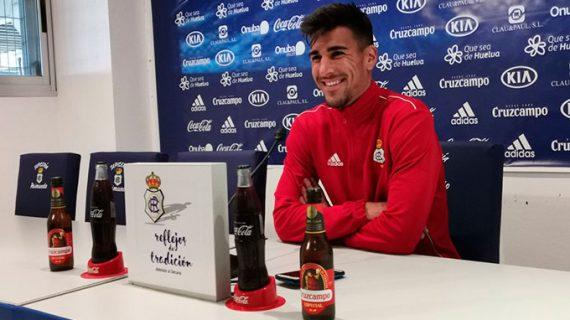 El capitán del Recre, Diego Jiménez, renovado