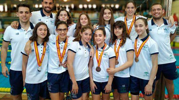 Irene Sánchez se proclama campeona de España Alevín femenina de natación