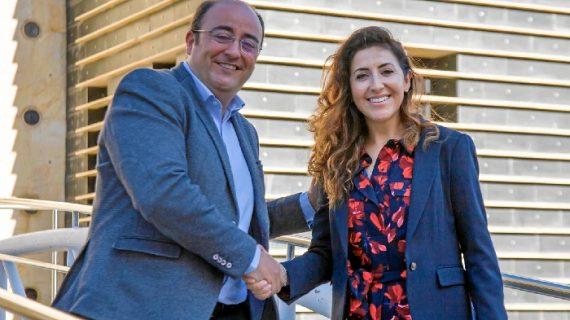 Isabel Butrón releva a Marcos Martín como nueva directora gerente de Aguas de Huelva