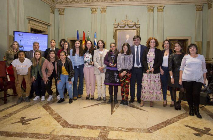 Los XVII Premios Marismas distinguen el trabajo por la igualdad del Sporting, Mujeres en Zona de Conflicto, la Unidad de Violencia de Género y María Antonia Peña