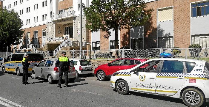 La Policía Local de Huelva se suma a la campaña de la DGT de del uso del cinturón y de los Sistemas de Retención Infantil