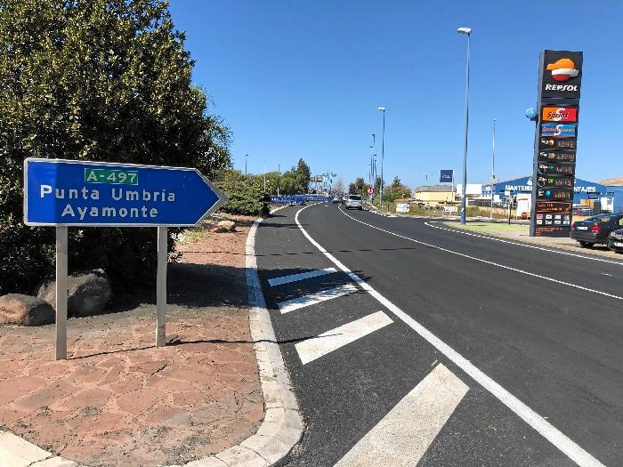 El paso inferior de entrada a Huelva del puente del Odiel se abre el domingo