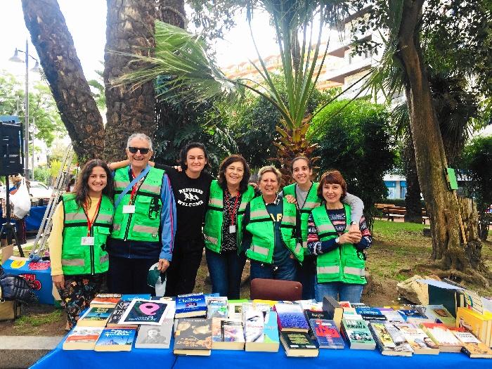 'Ayre Solidario' lleva este fin de semana su mercadillo al Muelle de las Carabelas