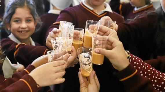 Los alumnos de los Salesianos reciben la primera clase magistral de la asignatura Cultura Gastronómica