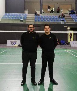 Israel Castaño y Adrián Soto, en su estancia en el 54 Portuguese International Championships 2019.