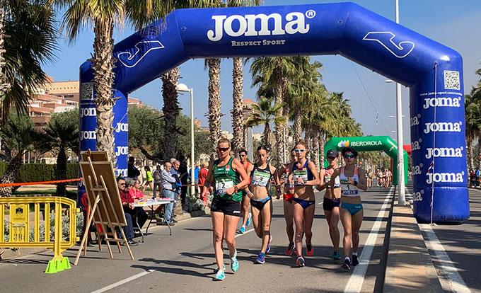 Meritoria medalla de bronce para Laura García-Caro en el Campeonato de España de marcha
