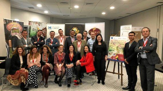 8 empresas del sector agroalimentario onubense fomentan su internacionalización en Lisboa
