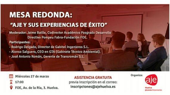 La Asociación de Jóvenes Empresarios de Huelva expone sus experiencias de éxito