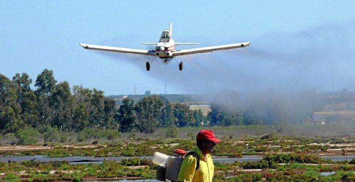 El Servicio de Control de Mosquitos de Diputación inicia su  Plan de Actuación sobre 140.000 hectáreas de 12 municipios