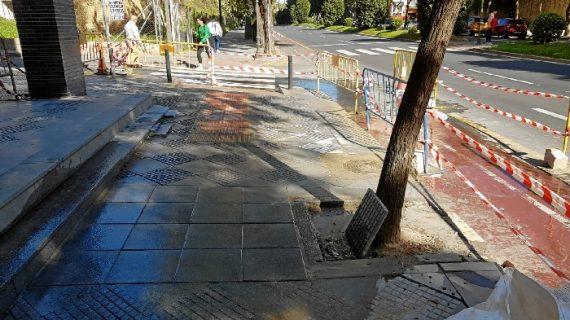 Un total de 66 obras de mantenimiento se desarrollaron en Huelva durante el mes de febrero