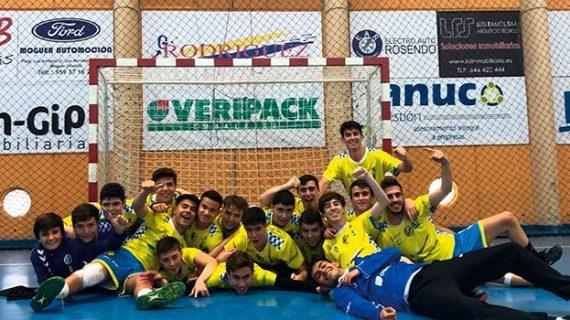 Un gran Pedro Alonso Niño logra el ascenso a la División de Honor Andaluza Juvenil de balonmano