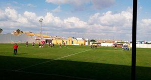 Prolegómenos del partido Pinzón-Viso, que ganó el equipo palermo. / Foto: @UP_Viso.
