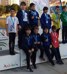 Los logros alcanzados por el Marítimo de Huelva en Sevilla demuestran el buen trabajo realizado en la base.
