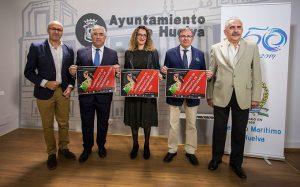 Un momento de la presentación del Campeonato de Andalucía de Remoergómetro que se celebra en Huelva este sábado.