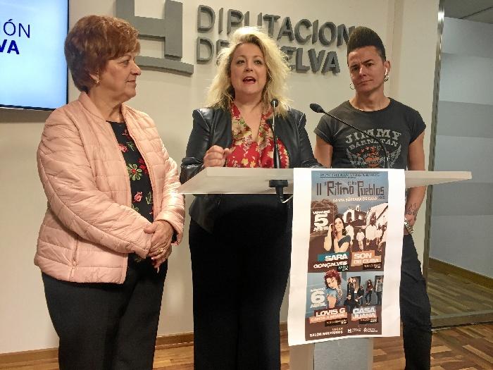 Diputación lleva la mejor fusión musical a Santa Bárbara de Casa con la segunda edición de 'El Ritmo de los pueblos'