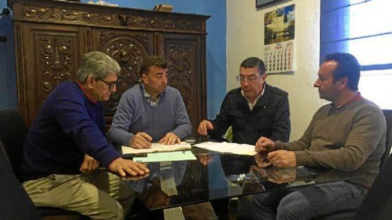 Giahsa renueva con el Ayuntamiento de Santa Olalla las redes de abastecimiento