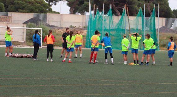 El Sporting Puerto de Huelva inicia su semana de trabajo con la mente puesta en el UD Granadilla