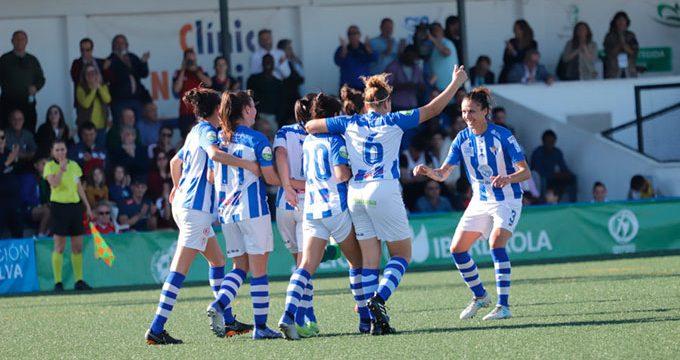 El Sporting Puerto de Huelva tira de casta y oficio para ganar la 'final' ante el Real Betis (1-0)