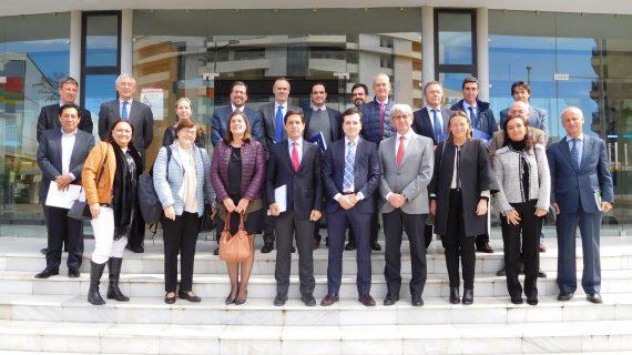 Aiqbe recibe al Secretario General de Industria y Pyme del ministerio y presidente de EOI