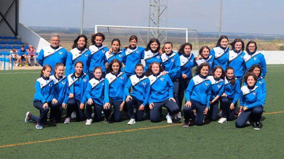 Merecido homenaje al equipo Cadete-Infantil del Sporting Puerto de Huelva por su triunfo en la Liga