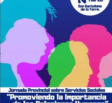 San Bartolomé acoge este jueves la I Jornada Provincial sobre Servicios Sociales