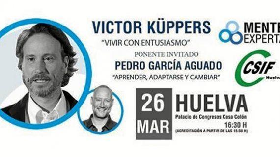 Más de 800 personas asistirán a la conferencia de Víctor Küppers en el Palacio de Congresos de la Casa Colón