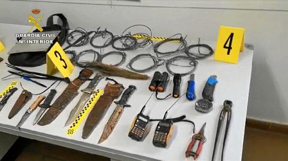 Relacionadas 8 personas con delitos de caza furtiva en el Parque Nacional de Doñana y sus inmediaciones