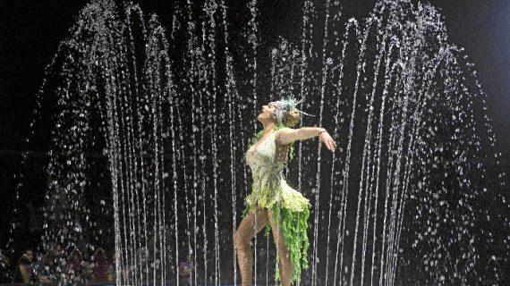 Circo Alegría presenta por primera vez en Huelva el exitoso espectáculo 'Circo Sobre Agua'