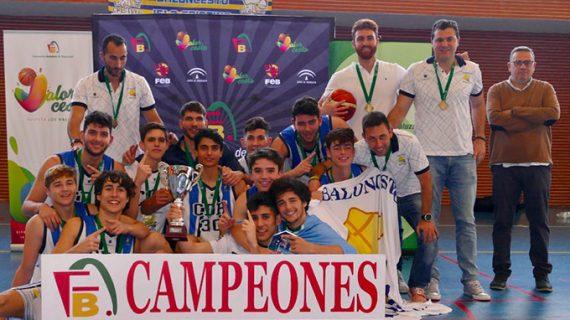 Triunfo del Ciudad de Huelva en el Campeonato Provincial Junior masculino de baloncesto