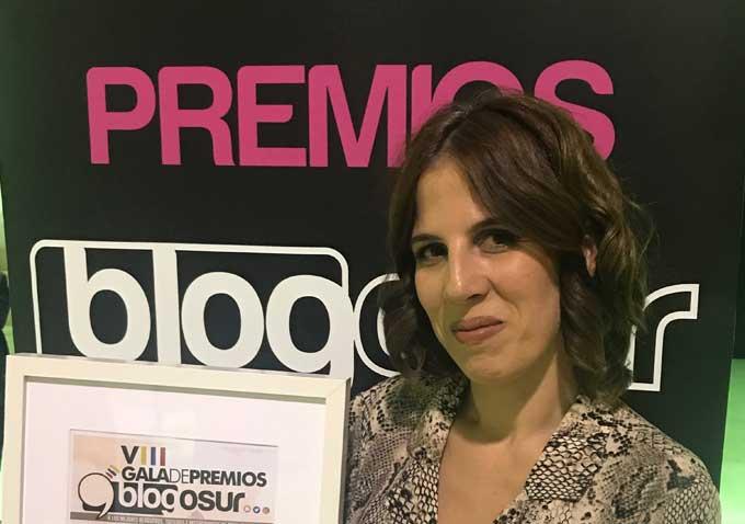 La web 'Adoro ser mamá', de la onubense Cristina Luengo, se alza con el Premio Blogosur al Mejor Blog Personal
