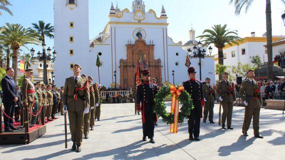 Trescientos civiles Juran Bandera en La Palma del Condado