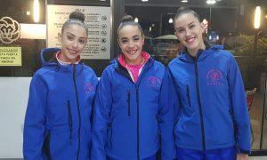 Representantes del Rítmico Colombino en la primera Fase Nacional de Clubes Iberdrola.