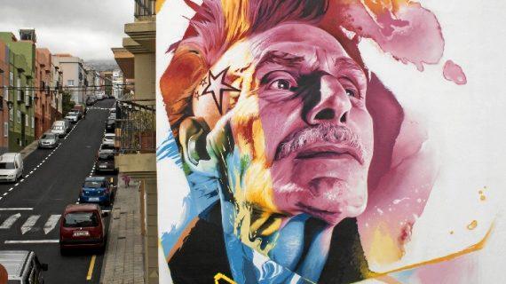 Man o Matic expone su arte en Tenerife